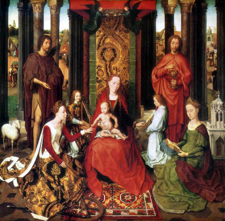 Hans Memling - The engagement of the holy Catherine
