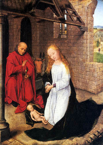 Hans Memling - The Birth of the Christ