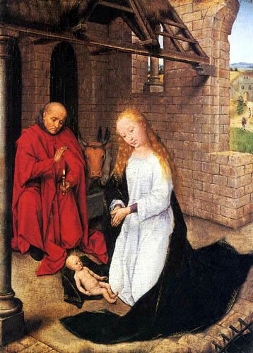 Hans Memling - La naissance du Christ