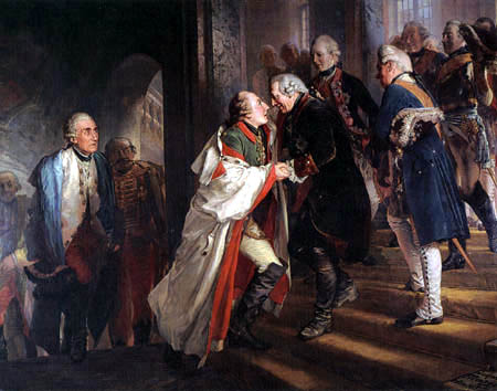 Adolph von (Adolf) Menzel - Frederic II
