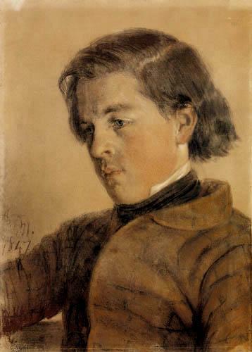 Adolph von (Adolf) Menzel - Carl Johann Arnold