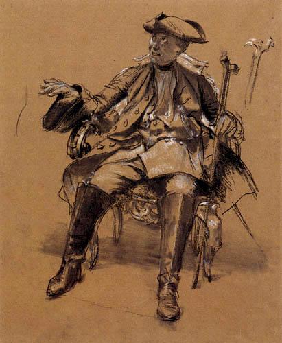 Adolph von (Adolf) Menzel - Frederic the Great