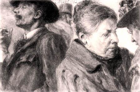 Adolph von (Adolf) Menzel - Vier Kopfstudien