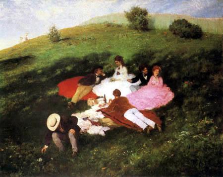Szinyei Pál Merse - Outdoor picnic