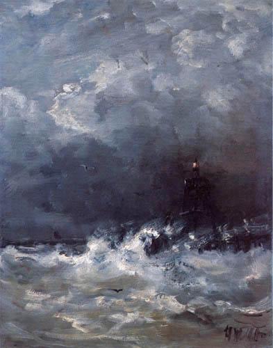 Hendrik Willem Mesdag - Das Leuchtfeuer