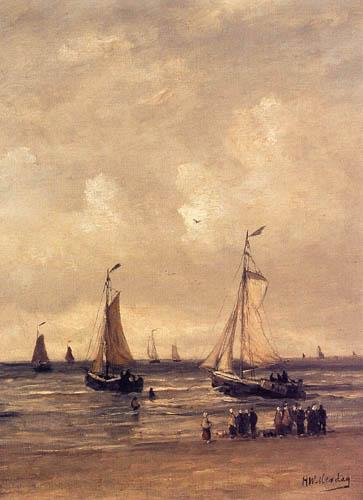 Hendrik Willem Mesdag - The Return of the Fishing Fleet