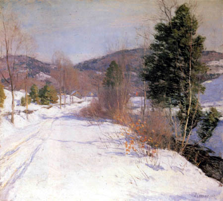 Willard Metcalf - Winter Afternoon