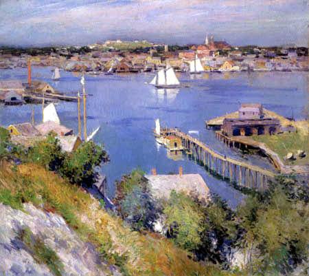 Willard Metcalf - Gloucester Harbor