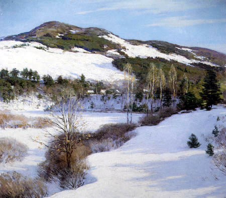 Willard Metcalf - Cornish Hills