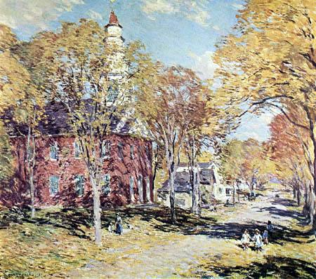 Willard Metcalf - October morning