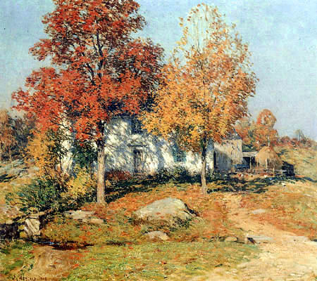 Willard Metcalf - October