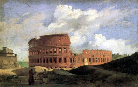 Achille Etna Michallon - Das Kolosseum in Rom