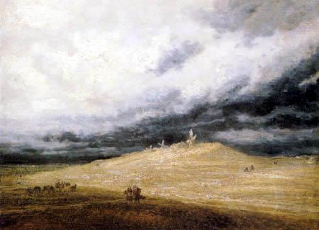 Georges Michel - Three Windmills