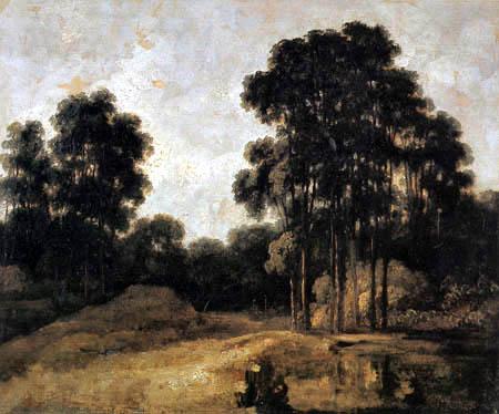 Georges Michel - Forest landscape