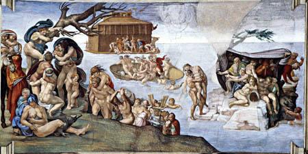 Michelangelo - The Deluge