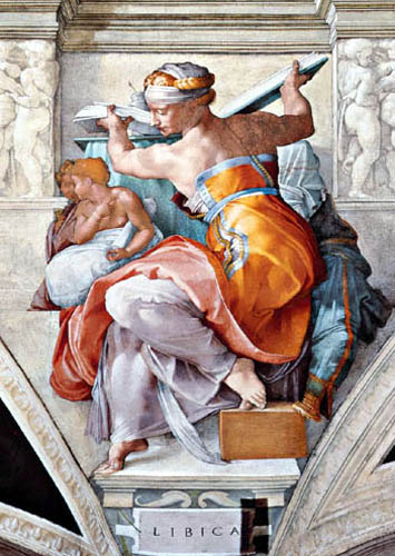 Michelangelo - Libyan Sibyl