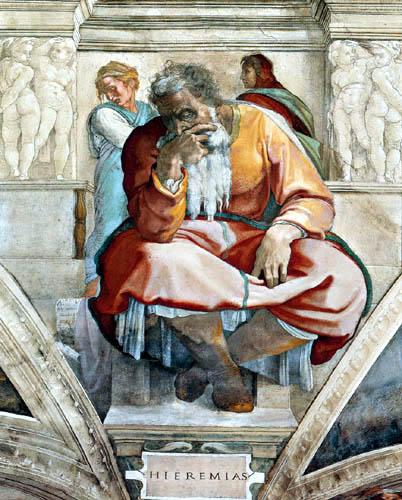 Miguel Ángel - El Profeta Jeremías