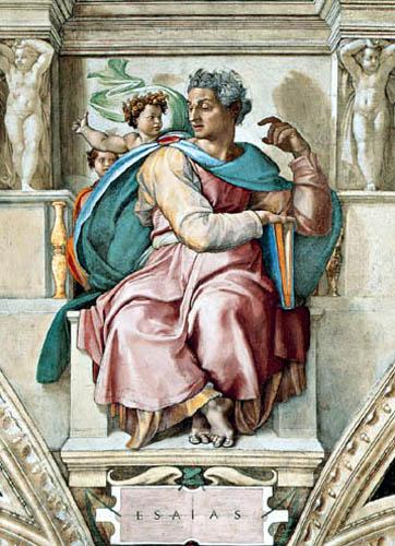 Miguel Ángel - El Profeta Isaías