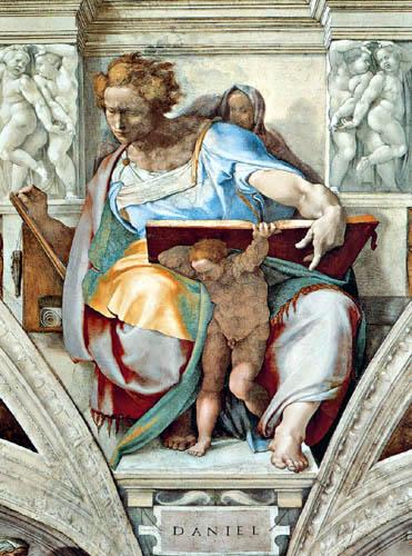Michelangelo - The Prophet Daniel