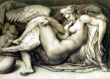 Michelangelo - Leda with Swan