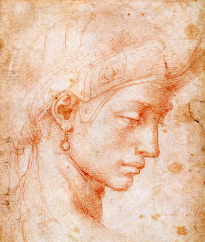 Michelangelo - Ideal face