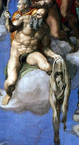 Michelangelo Buonarroti - Sixtinische Kapelle, Das Jüngste Gericht