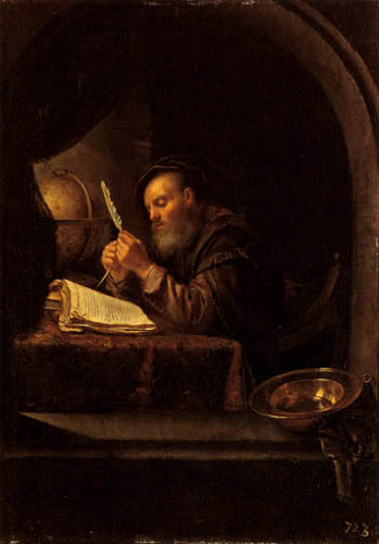 Frans van Mieris - An old scholar