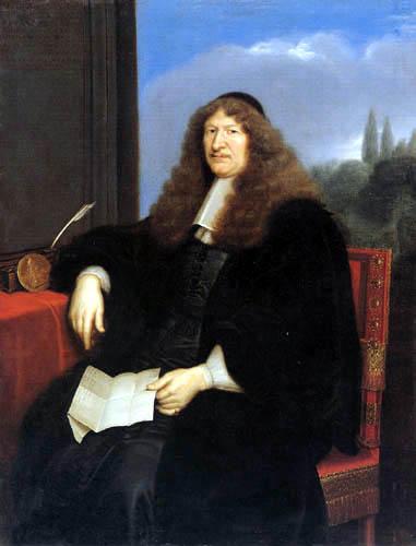 Pierre Mignard - Portrait of Jacques Tubeuf