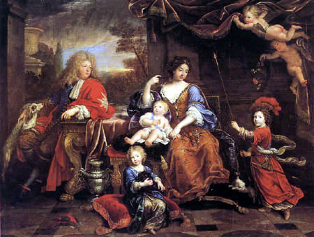 Pierre Mignard - Portrait of the Family of the Grand Dauphin