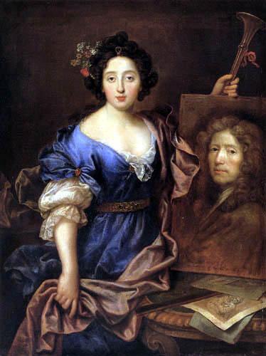 Pierre Mignard - Portrait of Catherine Mignard, Comtesse de Feuquières