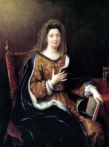 Pierre Mignard - Portrait of the Marquise de Maintenon as St Frances of Rome