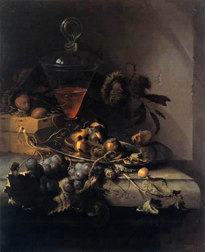 Abraham Mignon - Stillleben mit Obst