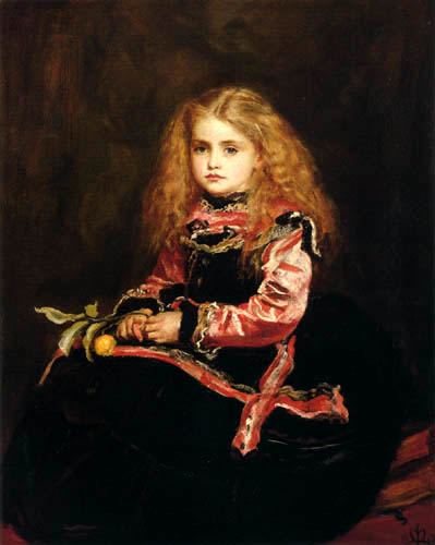 Sir John Everett Millais - Portrait of a Girl