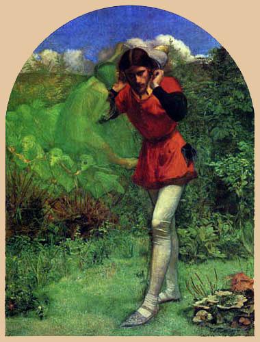 Sir John Everett Millais - Seduction of Ferdinand by the Elfs