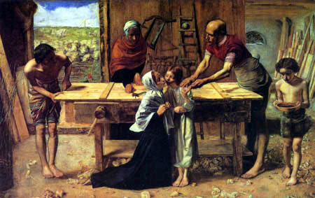 Sir John Everett Millais - Christ in the house of its parents