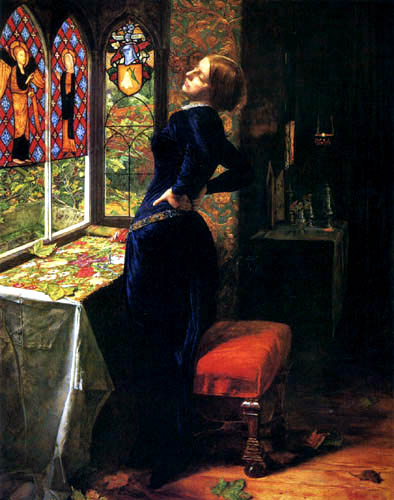 Sir John Everett Millais - Mariana