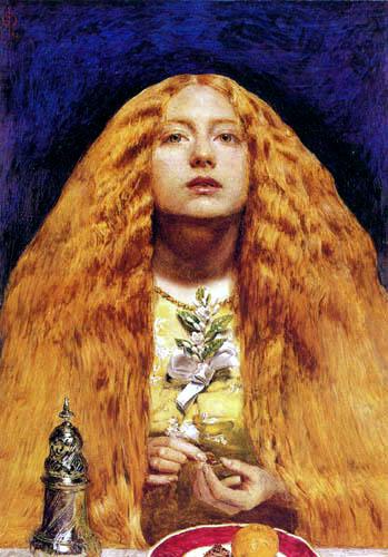 Sir John Everett Millais - Bride