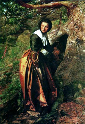 Sir John Everett Millais - Das Versteck