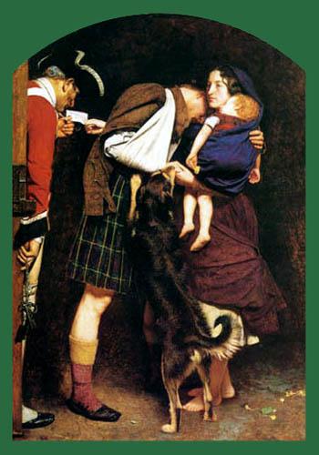 Sir John Everett Millais - Die Freilassung