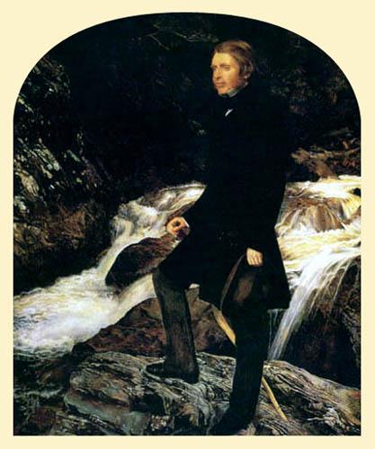 Sir John Everett Millais - John Ruskin