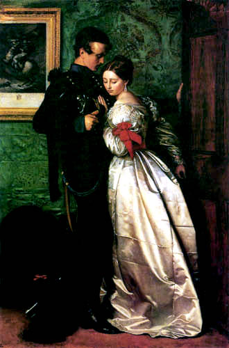 Sir John Everett Millais - Der Soldat Brunswicker