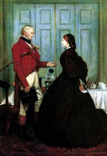 Sir John Everett Millais - Faith me