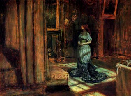 Sir John Everett Millais - Der Abend vor St. Agnes