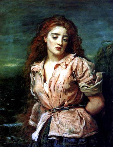 Sir John Everett Millais - The Martyrdom