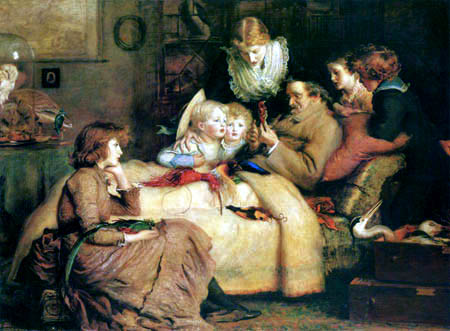 Sir John Everett Millais - The Ornithologist