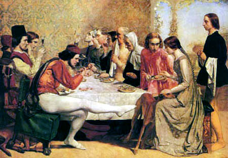 Sir John Everett Millais - Lorenzo und Isabella