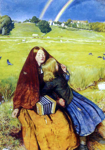 Sir John Everett Millais - The blind girl