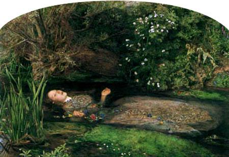 Sir John Everett Millais - Ophelia