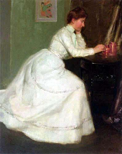 Richard Edward Miller - Retrato de Alice Carey