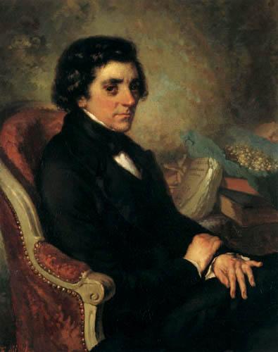 Jean-François Millet - Portrait of a man